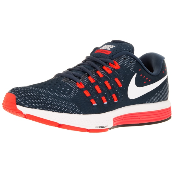 ed7139e1a958 Shop Nike Men s Air Zoom Vomero 11 Blue White Bl  T Crms Running Shoe -  Free Shipping Today - Overstock - 12329052