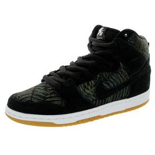 Nike Men's Dunk High Pro Sb Black/Black/Medium Olive Skate Shoe