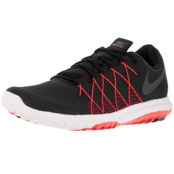 ad0c8dea385cb Shop Nike Men s Flex Fury 2 Black Metallic Hmtt University Red T C Running  Shoe - Free Shipping Today - Overstock.com - 12329066