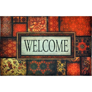 All Season Welcome 22-inch x 34-inch Nonslip Indoor/Outdoor Doormat