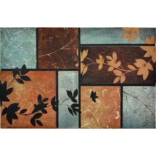 All Season Patchwork 22-inch x 34-inch Nonslip Indoor/Outdoor Doormat