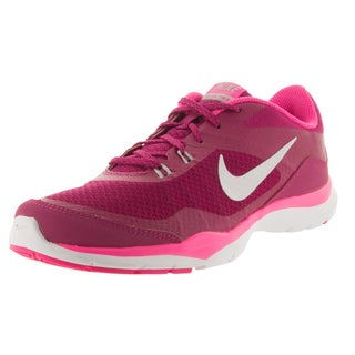 Nike Women's Flex Trainer 5 Sprt Fchs/Metallic Silver/Pink Pw/Vv Training Shoe