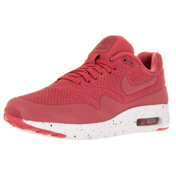 Nike Men's Air Max 1 Ultra Moire Terra Red/Terra Red/White RunningShoe  Men