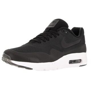 Nike Men's Air Max 1 Ultra Moire Black/Black/White Running Shoe