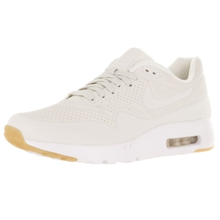 Nike Men's Air Max 1 Ultra Moire Phantom/Phantom/White/Gum Yellow Running Shoe