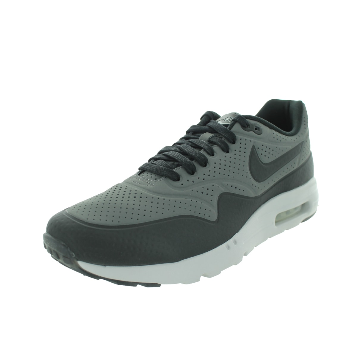 Nike Men's Air Max 1 Ultra Moire Dark Grey/Black/Flt Silv...