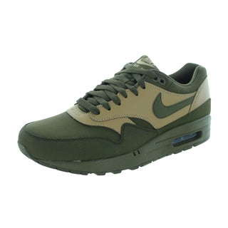 Nike Men's Air Max 1 Ltr Premium Dark Loden/Drk Ldn/Dsrt Cm/Black Running Shoe