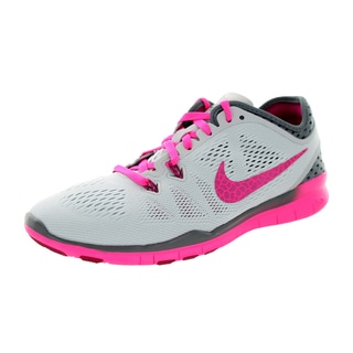Nike Women's Free 5.0 Tr Fit 5 Brthe /Frbrry/Grey/Pink Pw Training Shoe