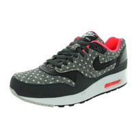 Nike Men's Air Max 1 Ltr Premium Anthracite/Black/Granite Running Shoe