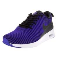Nike Women's Air Max Thea Kjcrd Black/Black/Racer Blue/White Running Shoe