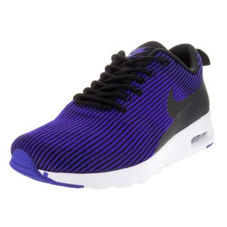 Nike Women's Air Max Thea Kjcrd Black/Black/Racer Blue/White Running Shoe