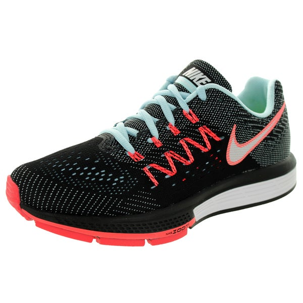 1a8a66bee09 Shop Nike Women s Air Zoom Vomero 10 Ice White Black Hot Lava ...