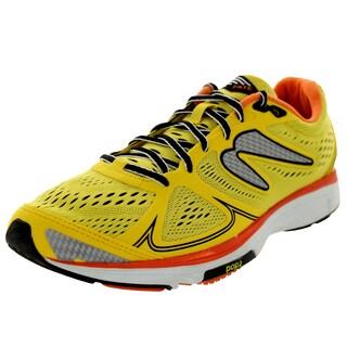 Newton Running Men's Fate Yellow/Orange Running Shoe