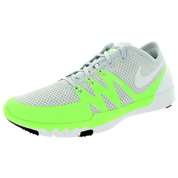 quality design 39d26 eff3c Shop Nike Men's Free Trainer 3.0 V3 Pr Platinum/White/Black ...