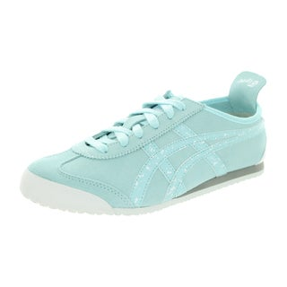 Onitsuka Tiger Women's Mexico 66 Clear Water/Clear Water Casual Shoe