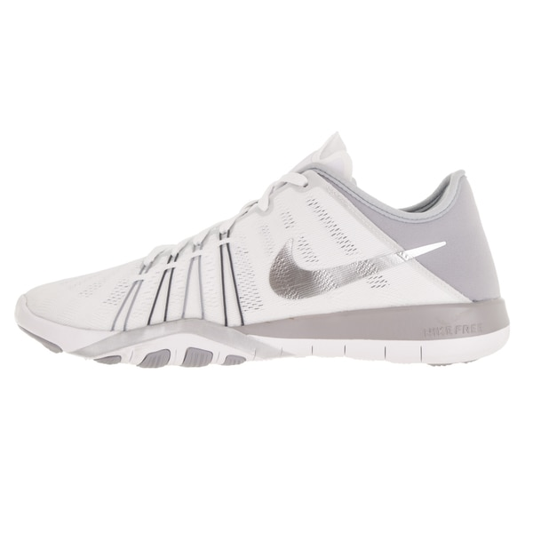 Shop Nike Women's Free Tr 6 White