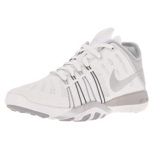 Nike Women's Free Tr 6 White/Metallic Silver/Grey Training Shoe