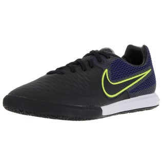 Nike Men's Magistax Final Ic Black/Black/Volt/Midnight Navy Indoor Soccer Shoe