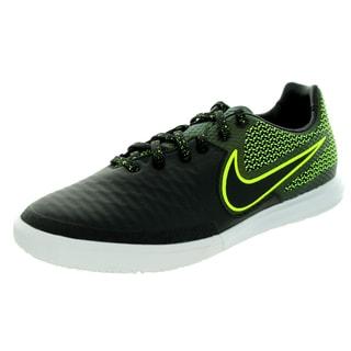 Nike Men's Magistax Final Ic Black/Black/Volt/White Indoor Soccer Shoe