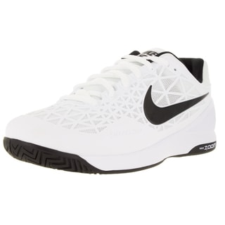 Nike Men's Zoom Cage 2 White/Black/Cool Grey Tennis Shoe