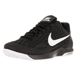 Nike Men's Zoom Cage 2 Black/White Tennis Shoe