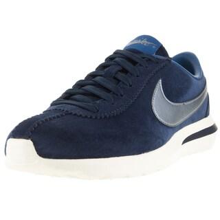 Nike Women's Roshe Cortez Nm Prm Suede Mid Navy/ Bl Dsk/ Bl/Sl Running Shoe