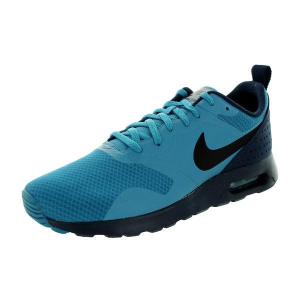 Shop Nike Men's Air Max Tavas Stratus BlueBlackObsidian