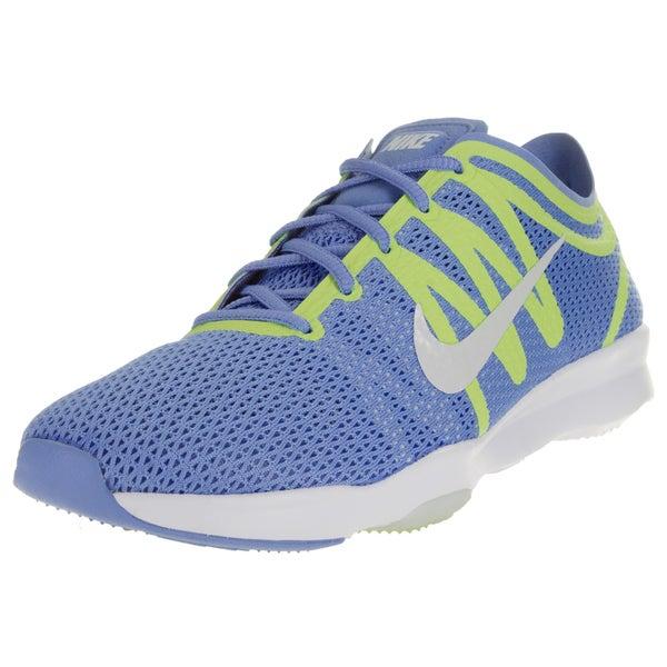 3829c2b47bcf3 ... Women s Athletic Shoes. Nike Women  x27 s Air Zoom Fit 2 Chalk Blue  White Green