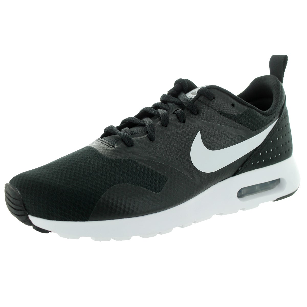 Nike Men's Air Max Tavas BlackWhiteBlack Running Shoe