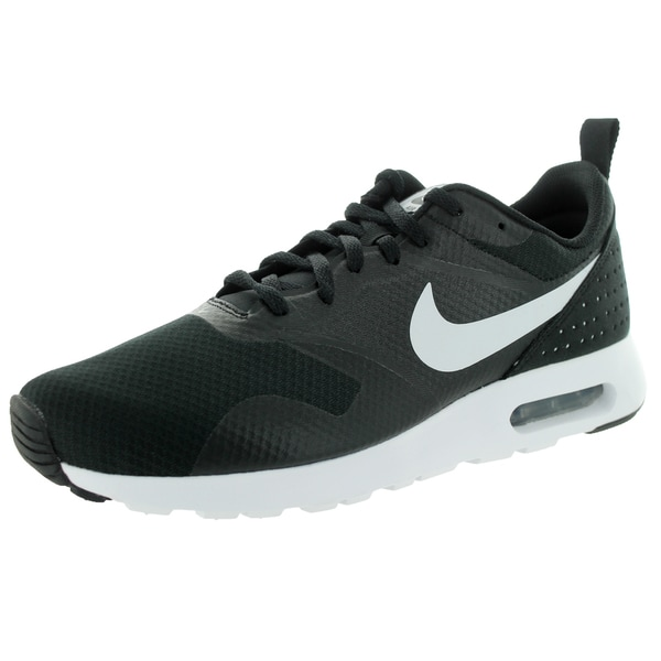 172c8f758015 Shop Nike Men s Air Max Tavas Black White Black Running Shoe - Free ...