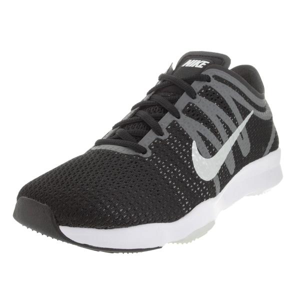 563037092ea2 ... Women s Athletic Shoes. Nike Women  x27 s Air Zoom Fit 2  Black White Dark Grey