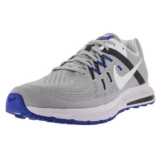 Nike Men's Zoom Winflo 2 Wolf Grey/White/Anthracite/ Running Shoe