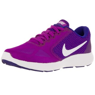Nike Women's Revolution 3 Violet/White/Cncrd/Gmm Bl Running Shoe