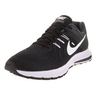Nike Men's Zoom Winflo 2 Black/White/Anthracite Running Shoe