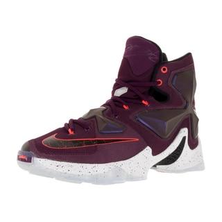 Nike Men's Lebron Xiii Mulberry/Black/Vvd Purple Basketball Shoe