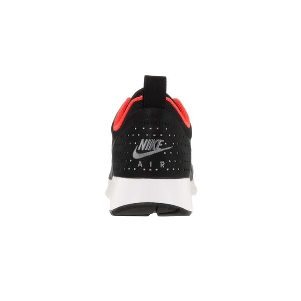 Shop Nike Men's Air Max Tavas BlackDark GreyTotal Crimson