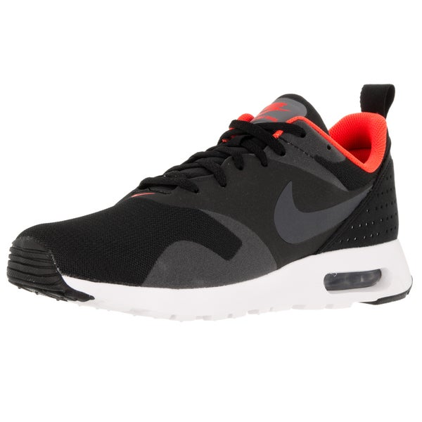 huge selection of a648a 128b7 ... Men s Athletic Shoes. Nike Men  x27 s Air Max Tavas Black Dark  Grey Total Crimson