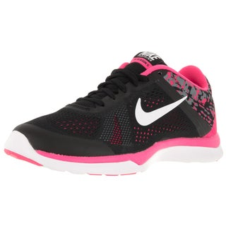 Nike Women's In-Season Tr 5 Print Black/White/Hyper Pink/Cl Grey Training Shoe
