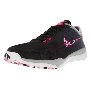 Nike Women's Flex Supreme Tr 4 Pr Black/Hyper Pink/Wlf /White Training Shoe