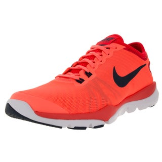 Nike Women's Flex Supreme Tr 4 Brightt Mango/Blue/Brght Crimson Training Shoe