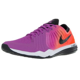 Nike Women's Dual Fusion Tr 4 Print Black/Pink Training Shoe