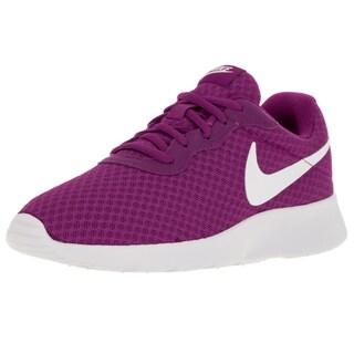 Nike Women's Tanjun Hyper Violet/White Running Shoe