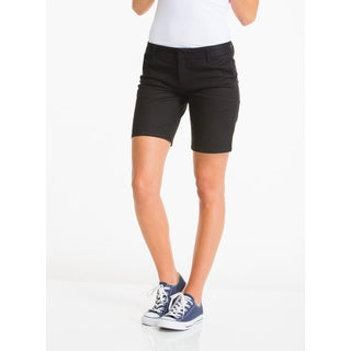 Lee Juniors' Black Cotton Basic Shorts