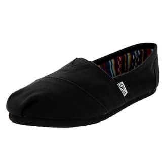 Toms Women's Classic Black/Black Casual Shoe|https://ak1.ostkcdn.com/images/products/12329489/P19161242.jpg?impolicy=medium