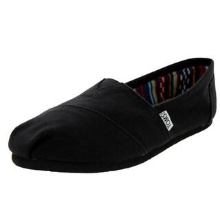 Toms Women's Classic Black/Black Casual Shoe (Option: 6.5)