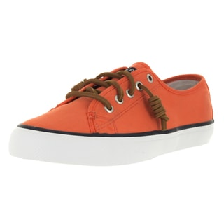 Sperry Top-Sider Women's Seacoast Dark Orange Casual Shoe