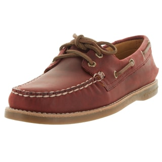 Sperry Top-Sider Women's Gold Authentic Original Burgundy Boat Shoe