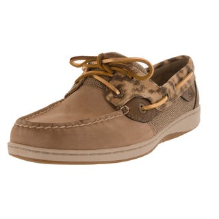 Sperry Top-Sider Women's Bluefish Wide Grge/Gld Boat Shoe