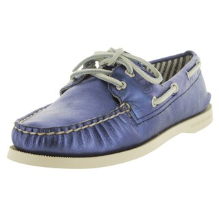 Sperry Top-Sider Women's Authentic Original Met Kidsuede Blue Boat Shoe (2 options available)