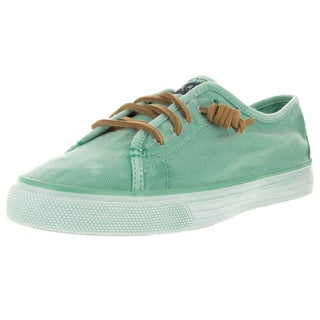 Sperry Top-Sider Women's Seacoast Washed Mint Casual Shoe